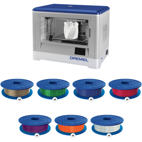 Dremel 3D Idea Builder 3D Printer with PLA Filament Kit