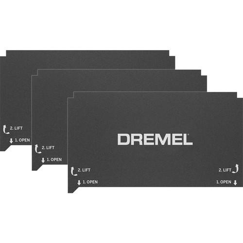 Dremel 3D FLEX Build Sheet for 3D40 FLEX 3D Printer (3-Pack)