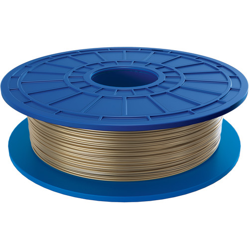 Dremel 3D 1.75mm PLA Filament for 3D Idea Builder Printer (Gold Medal, 10-Pack)
