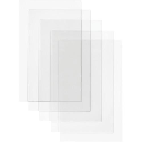 """Dremel 3D Clear Acrylic Craft Board (20 x 12 x 0.1"""", 5-Pack)"""
