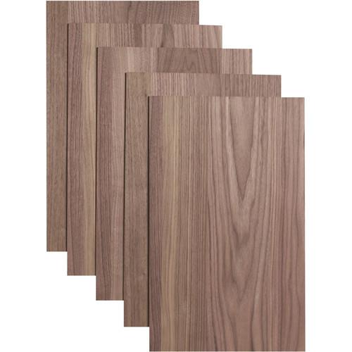 """Dremel 3D Walnut Plywood Craft Board (20 x 12 x 0.1"""", 5-Pack)"""