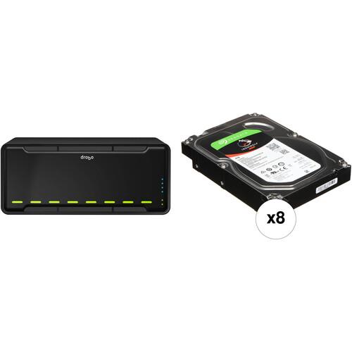 Drobo B810i 32TB 8-Bay iSCSI SAN Enclosure Kit with Seagate NAS Drives (8 x 4TB)