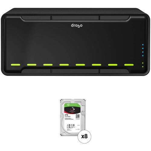 Drobo B810i 48TB 8-Bay iSCSI SAN Enclosure Kit with Seagate NAS Drives (8 x 6TB)