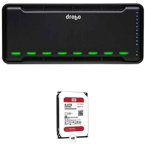 Drobo B810n 64TB 8-Bay NAS Enclosure Kit with Drives (8 x 8TB)