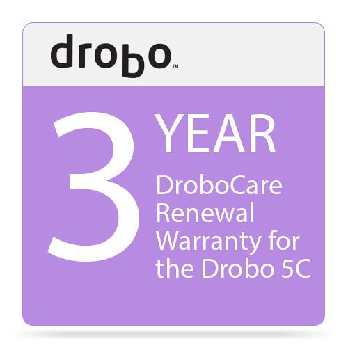 Drobo 3-Year DroboCare Renewal Warranty for the Drobo 5C