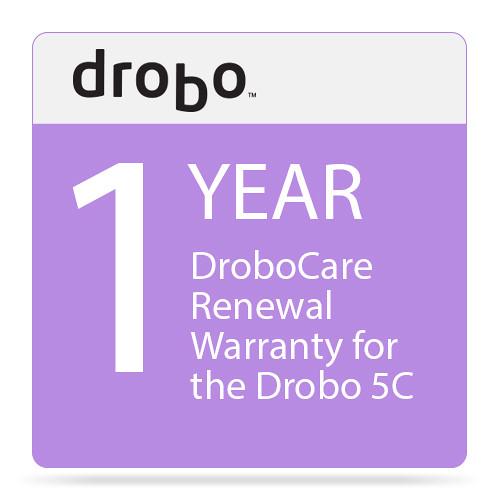 Drobo 1-Year DroboCare Renewal Warranty for the Drobo 5C
