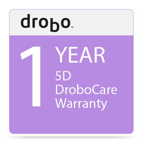 Drobo 1-Year DroboCare Renewal Warranty for the Drobo 5D