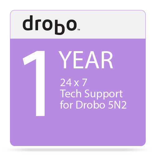 Drobo 1-Year DroboCare Renewal Warranty for the Drobo 5N2