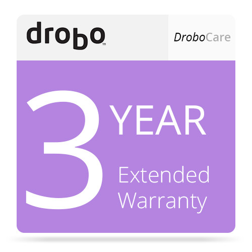 Drobo 3 Year DroboCare Extended Warranty for Drobo 5N