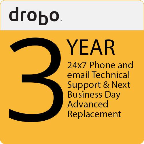 Drobo 3 Yr. 24X7 Tech. Support  Nbd Adv. Replacement