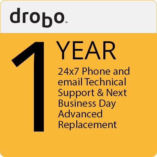 Drobo 1 Yr. 24X7 Tech. Support  Nbd Adv. Replacement