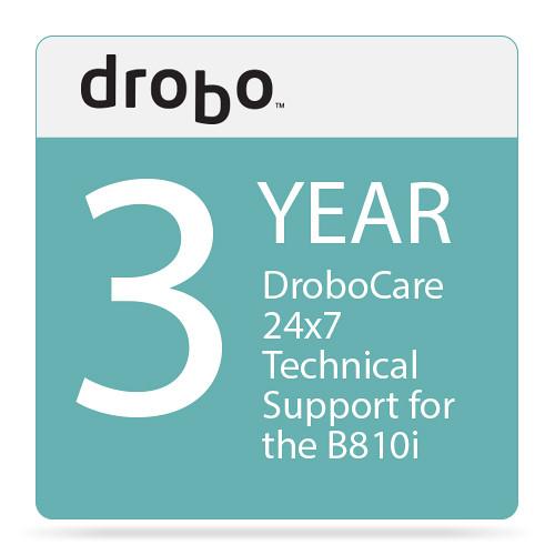 Drobo 3-Year DroboCare for Drobo B810i Storage Enclosure