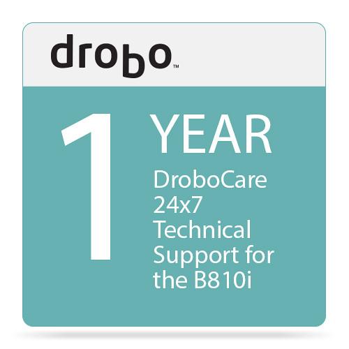 Drobo 1-Year DroboCare for Drobo B810i Storage Enclosure
