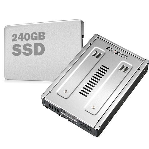 "Drobo 240GB Enterprise SATA 2.5"" Internal SSD in 3.5"" Converter Dock"