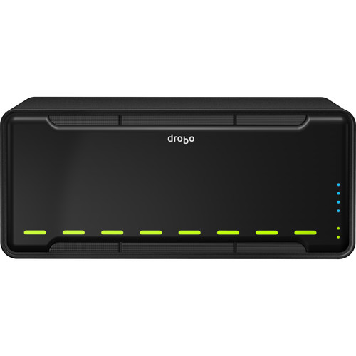 Drobo 24.512TB (6 x 4TB HDD, 2 x 256GB SSD) B810n 8-Bay NAS Server