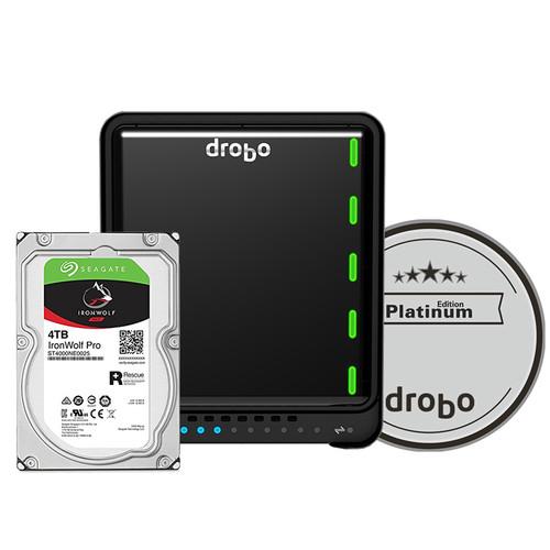 Drobo 5D3 16TB 5-Bay Thunderbolt 3 Array (4 x 4TB, Platinum Edition)