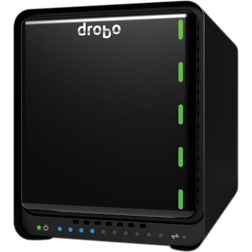 Drobo 5N 2TB 5-Bay NAS Storage Array with Gigabit Ethernet (2 x 1TB)