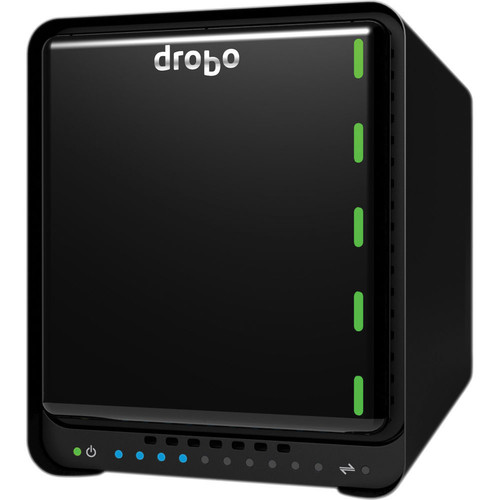 Drobo 5N 30TB 5-Bay NAS Storage Array with Gigabit Ethernet (5 x 6TB)