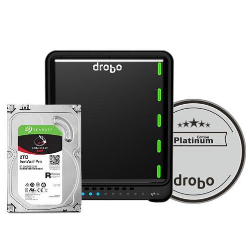 Drobo 5N2 6TB 5-Bay NAS Enclosure (3 x 2TB, Platinum Edition)