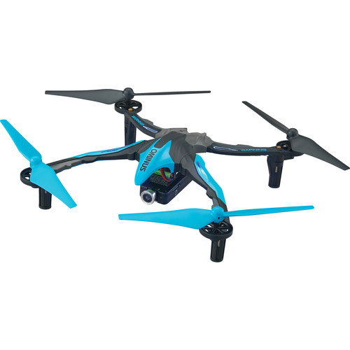 DROMIDA Ominus FPV Quadcopter with Integrated 720p Camera (RTF, Blue)