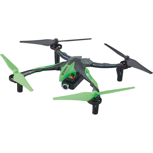 DROMIDA Ominus FPV Quadcopter with Integrated 720p Camera (RTF, Green)