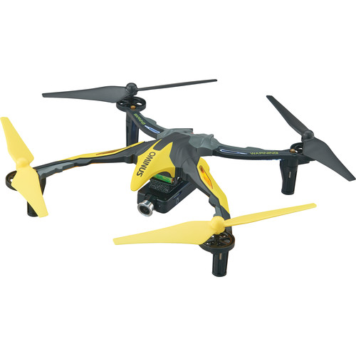 DROMIDA Ominus FPV Quadcopter with Integrated 720p Camera (RTF, Yellow)