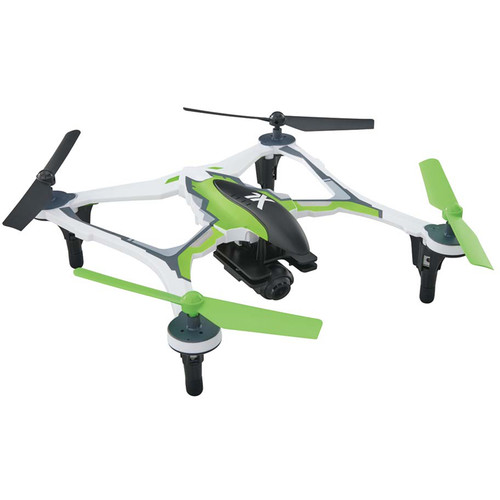 DROMIDA XL FPV Quadcopter with Integrated 1080p Camera (RTF, Green)