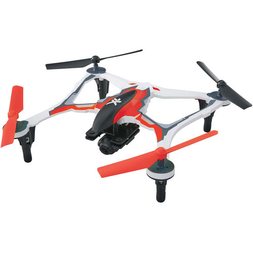 DROMIDA XL FPV Quadcopter with Integrated 1080p Camera (RTF, Red)