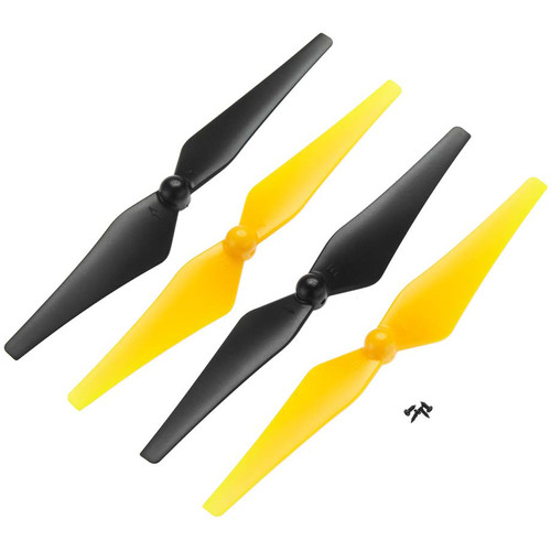 DROMIDA Prop Set for Vista FPV Quadcopter (4-Pack, Yellow/Black)