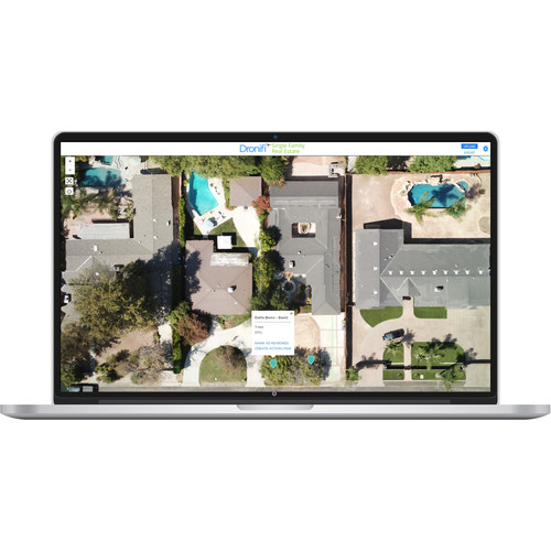 Dronifi Single Family Real Estate Aerial Imagery Software Subscription