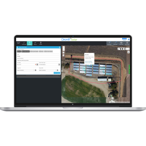 Dronifi Solar Aerial Imagery Software Subscription