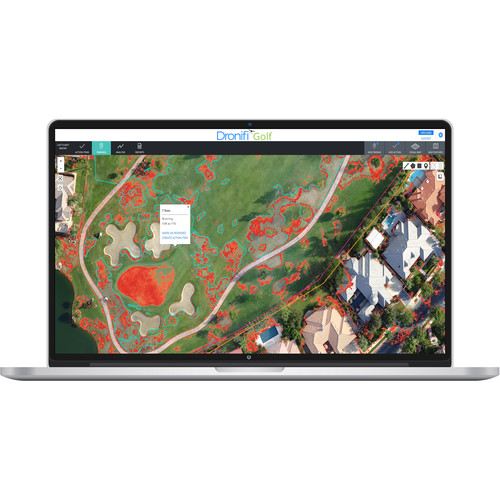 Dronifi Golf Aerial Imagery Software Subscription