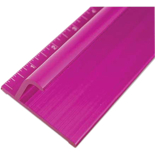"Drytac Steel Edge Safety Ruler (64"", Purple)"