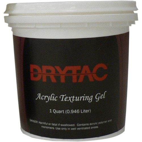 Drytac White Acrylic Texture Gel (Quart, 6-Pack)