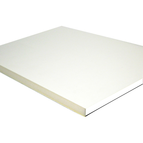 "Drytac PVC Edging for Des-4 & DES-5 (5/8"" x 0.18"" x 600', White)"