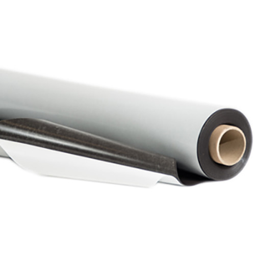 "Drytac Magnetic Sheeting with White Surface and Adhesive (39.4"" x 50')"