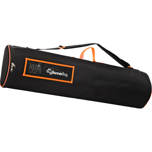"Drytac Replacement Canvas Bag for Double Banner Bug (33 7/16"", Black)"