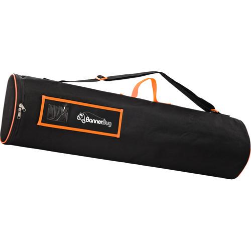 """Drytac Replacement Canvas Bag for Single Banner Desk Bug (8 11/16"""", Black)"""