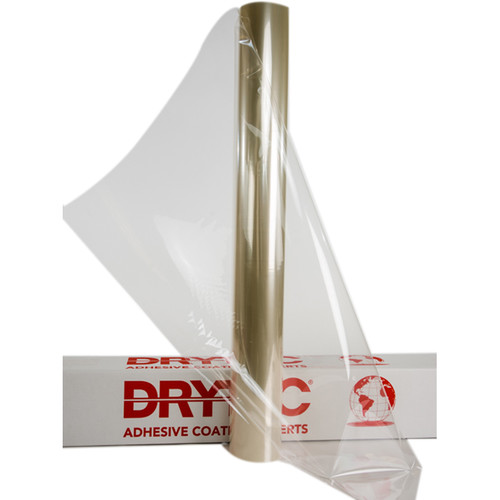 "Drytac Interlam BioGlass Pressure Sensitive Overlaminating Film (38"" x 164' Roll, 3 mil, Gloss)"