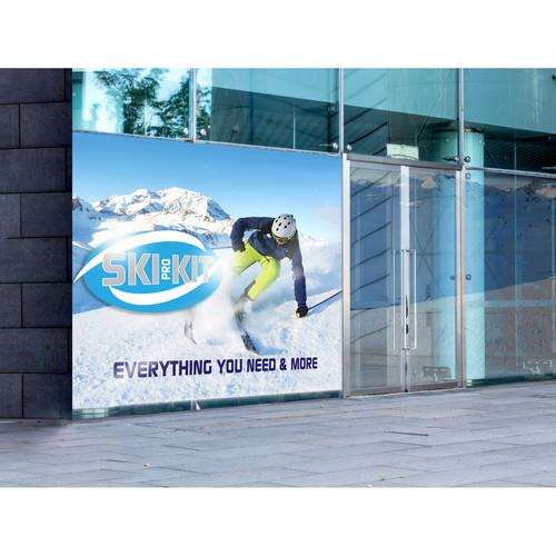 "Drytac Polar Premium Air Egress White Matte PB (60"" x 150')"