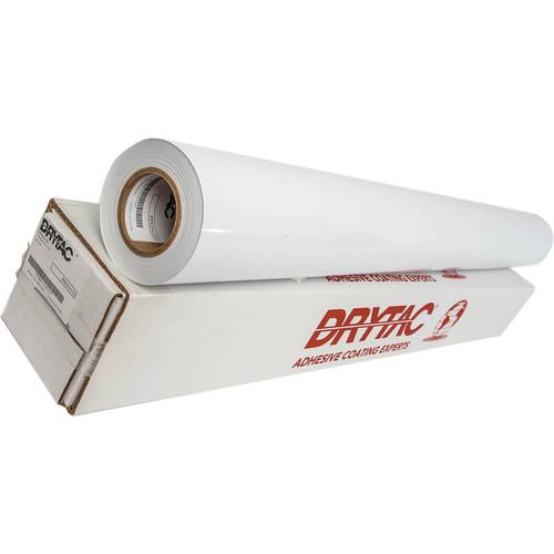 "Drytac 3.2mil Polar Polymeric Permanent-Adhesive Vinyl (Gloss Finish, 60"" x 150')"