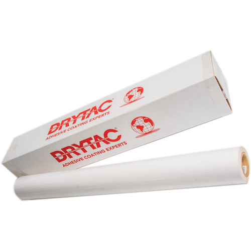 """Drytac Polar Polymeric Matte with Removable Clear Adhesive (54"""" x 150' Roll)"""