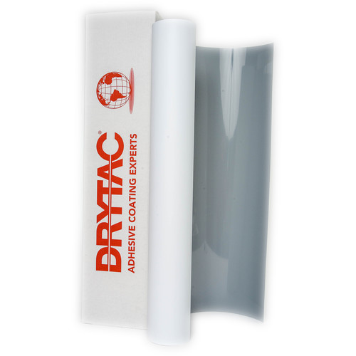 "Drytac Printable Eclipse Print Media for Banner Stands (50"" x 98' Roll, 10 mil, Satin Solvent)"