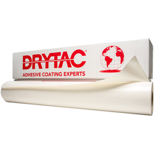 "Drytac MediaTac Pressure-Sensitive Mounting Adhesive (51"" x 164' Roll, 0.5 mil)"