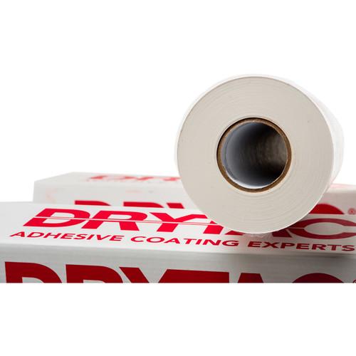 "Drytac SureTac White Pressure-Sensitive Mounting Adhesive (51"" x 300' Roll, 1.1 mil)"