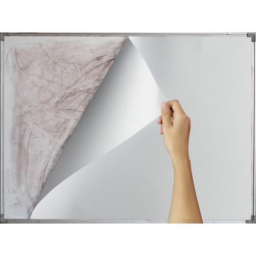 "Drytac ReTac WipeErase White Removable Dry-Erase Film (60"" x 150' Roll, 6 mil)"
