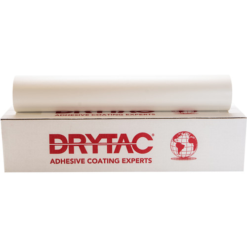 "Drytac Trimount Heat-Activated Permanent Dry Mounting Tissue (25.5"" x 300' Roll, 3 mil)"