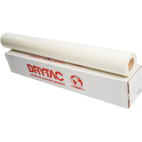 "Drytac Viziprint Clear PET Film for UV Printers (54"" x 164' Roll)"