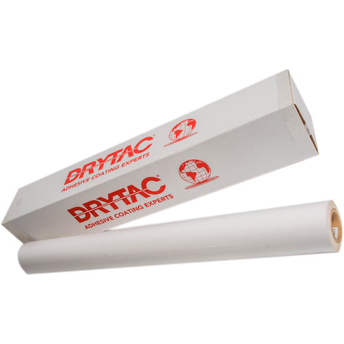 "Drytac ReTac Wall Printable Matte White Polymeric PVC Film (54"" x 150', 6.0 mil)"