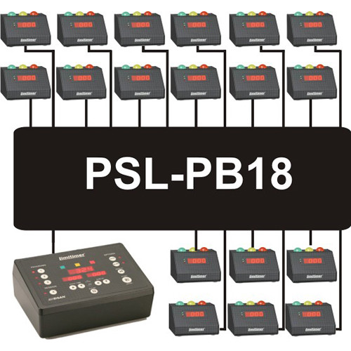 DSAN Corp. PSL-PB18 18-Port Power Booster for LIMITIMER Signal Lights